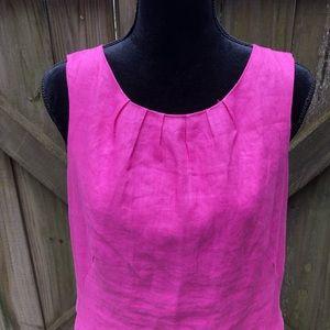Linen Pink Dress